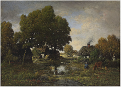 A Country Scene