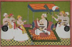 A maharaja of Samode