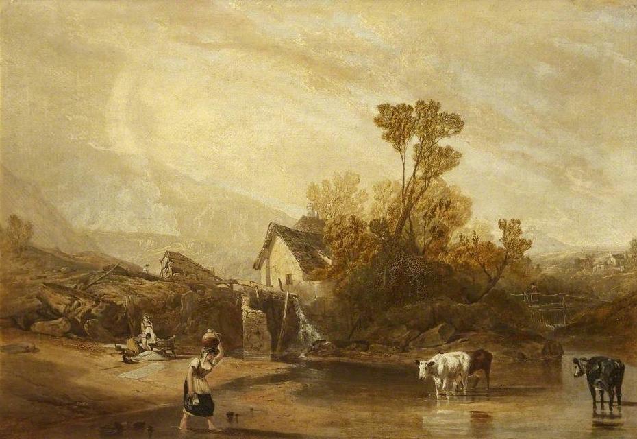A Mill near Llangollen, North Wales