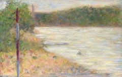 A River Bank (The Seine at Asnières)