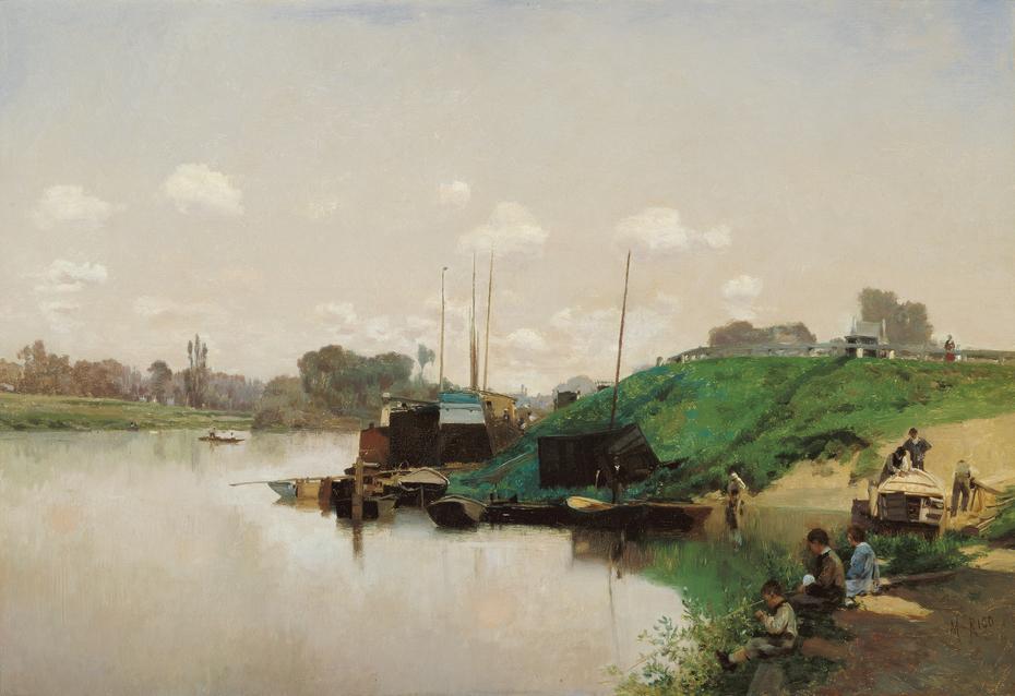 A Summer's Day on the Seine