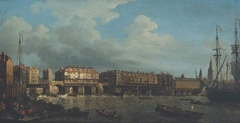 A View of London Bridge before the Late Alterations