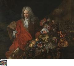 Allegorisch portret van een man