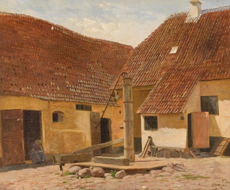 An old farm in Stubbekøbing