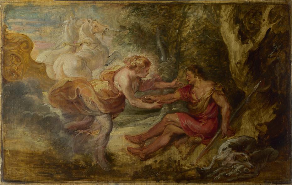 Aurora abducting Cephalus