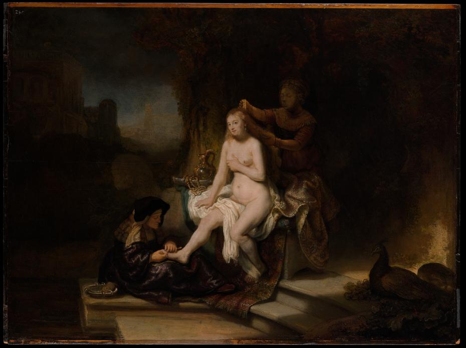 The Toilet of Bathsheba