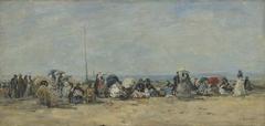 Beach Scene, Trouville