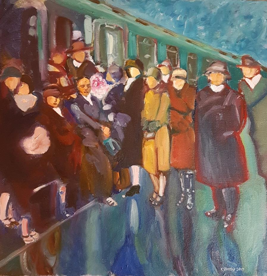 Boarding The Green Train