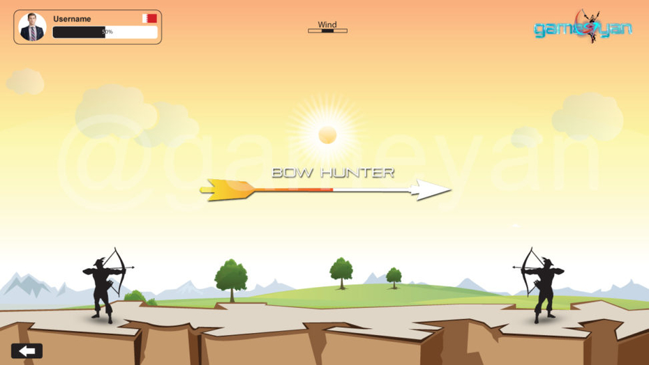 Bow Hunter – Mobile, iOS and Android Game Design by GameYan Art Outsourcing Studio Chicago, USA