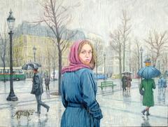 Brief encounter, Paris in the rain