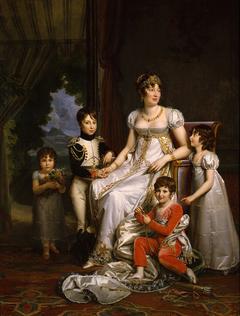 Caroline, reine de Naples et ses enfants