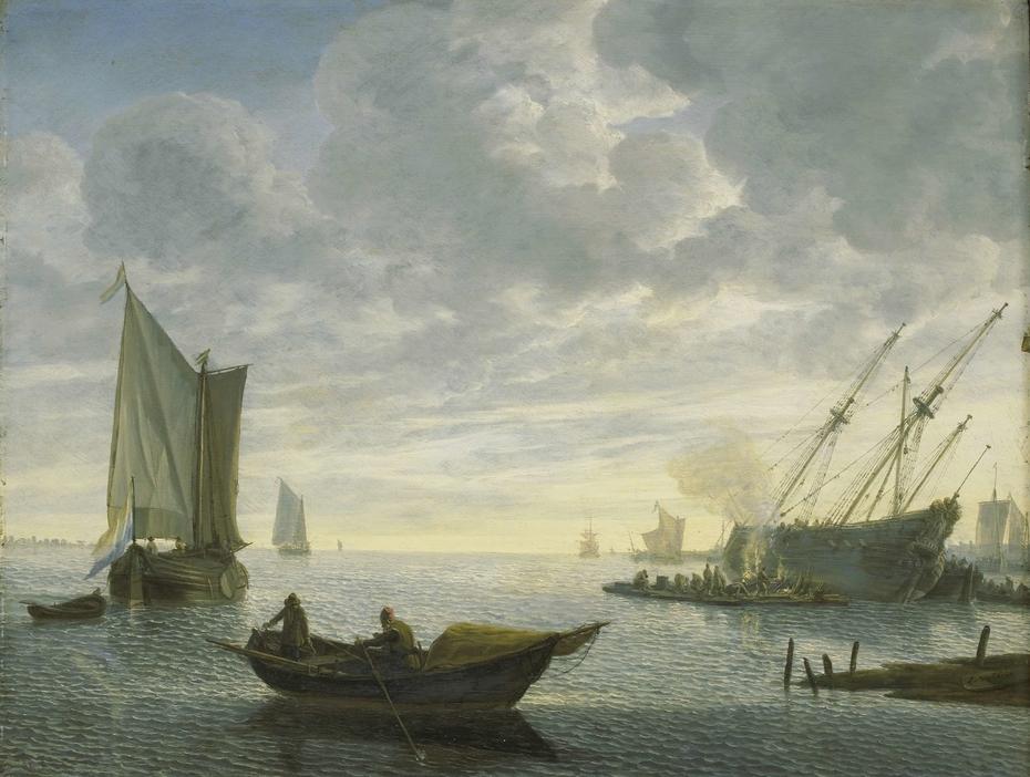 Caulking of a Vessel