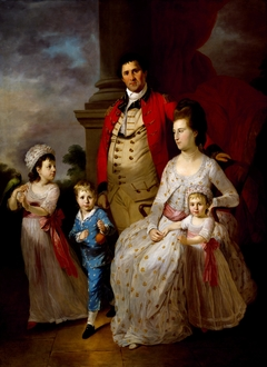 Colonel John Fortnum and Family