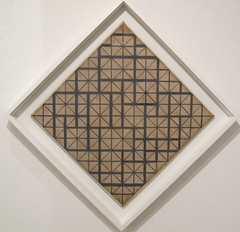Composition with Grid 4 (Lozenge)