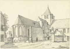 De kerk te Laeken bij Brussel