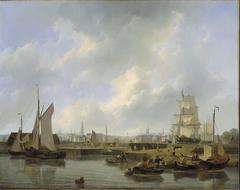 De Willemssluis te Amsterdam