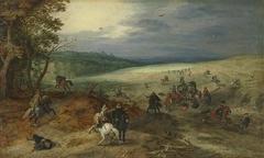 Der Überfall mit Jan Brueghel d. Ä.