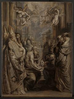 Die Disputation über die Gegenwart Christi in der Eucharistie