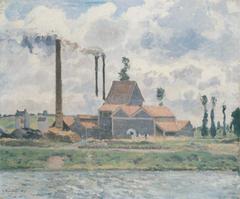 Factory at Saint-Ouen-l'Aumône