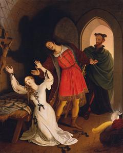 Faust und Gretchen im Kerker