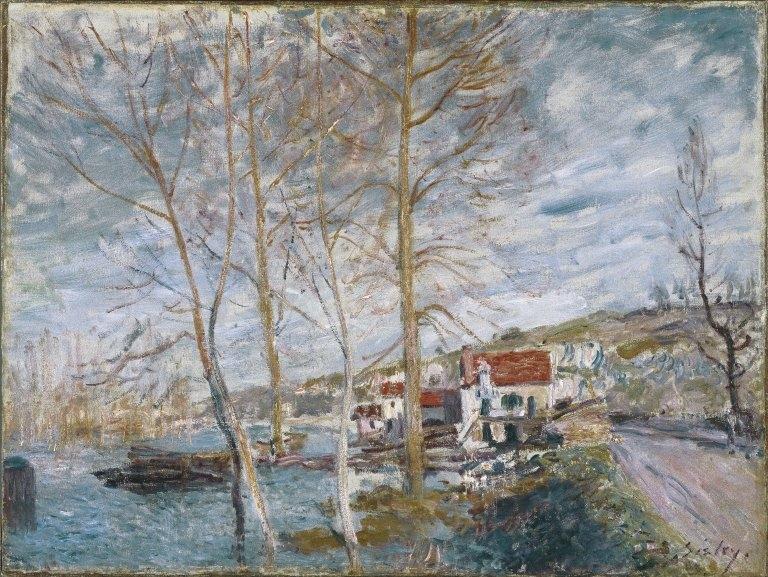 Flood at Moret (Inondation à Moret)
