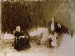 Four Generations (Queen Victoria, King Edward VII, Prince Edward, Duke of Windsor (King Edward VIII) and King George V)
