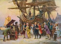 Franklin's Return to Philadelphia, 1785