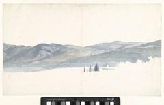 Gezicht op de heuvels rond Tivoli