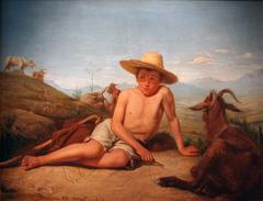 Giotto gardant les chèvres