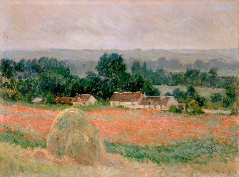 Haystack at Giverny
