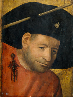 Head of a Halberdier