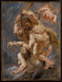 Hercules as Heroic Virtue Overcoming Discord