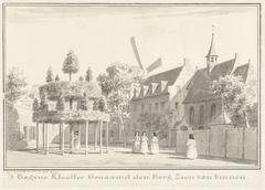Het begijnklooster De Berg Zion op Schouwen