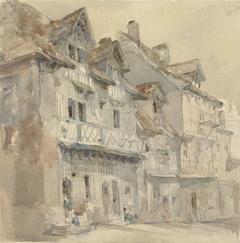 Huizen in Dieppe