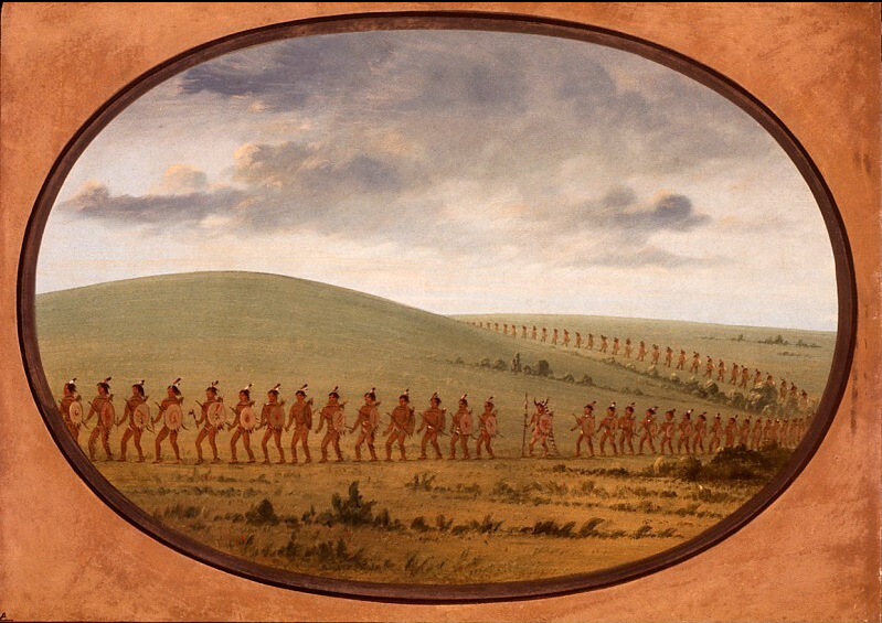 Indian File - Iowa