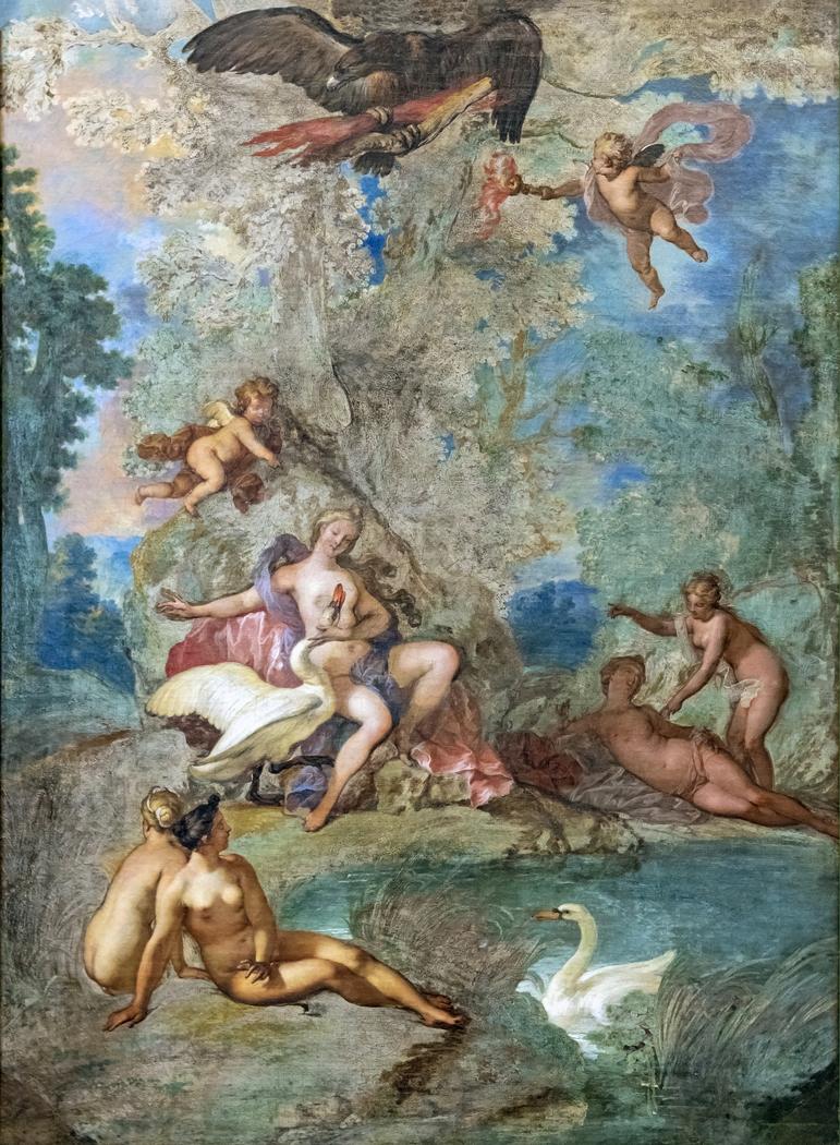 Jupiter et Léda