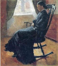 Karen Bjølstad in the Rocking Chair