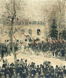 La fête des quatre-vingts ans de Victor Hugo