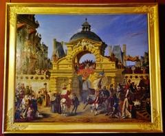 Le baptême de Louis XIII au château de Fontainebleau