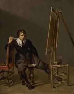 Le repos du peintre