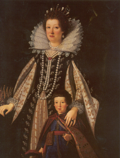 Marie Madeline and Her Son