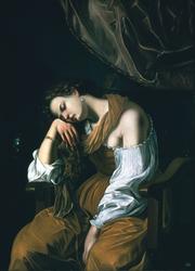 Mary Magalene as Melancholy