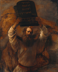 Moses Smashing the Tablets of the Law