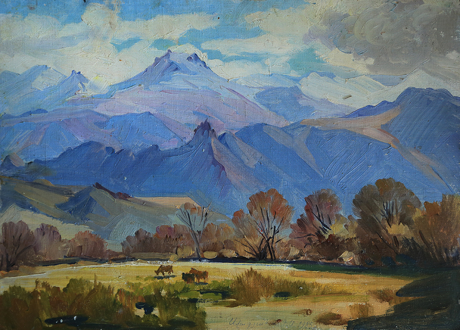 Mountains in Eghegnadzor