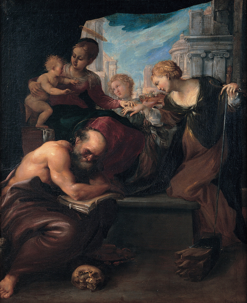 Mystic marriage of Saint Catherine