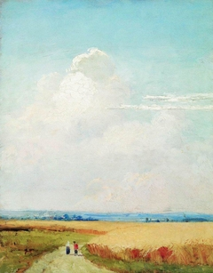 Noon near Moscow. Study