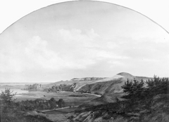 North Zealand Landscape at Lake Arre where King Valdemar the Victor built Dronningholm Castle in Memory of his Queen Dagmar