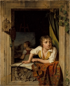 Painting and Music (Portrait of the Artist's Son)
