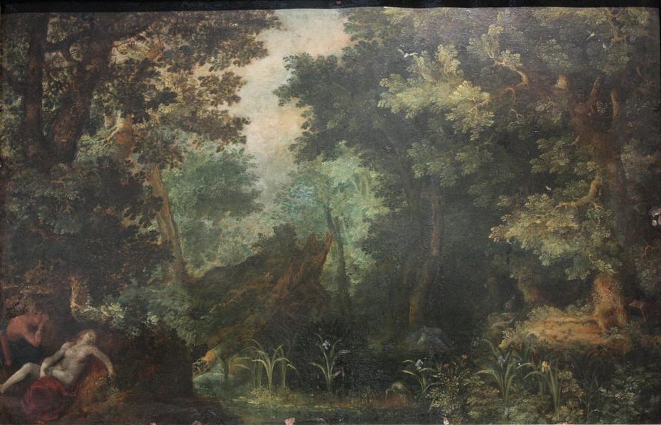 Paysage boisé avec Céphale et Procris