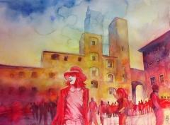 Pomeriggio in piazza / Afternoon in the square